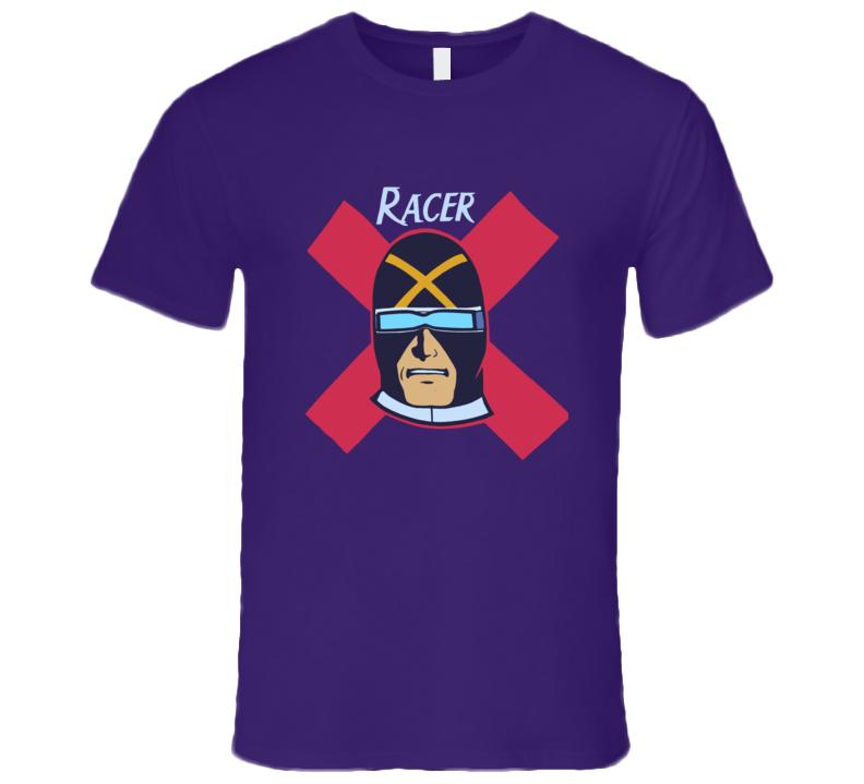 Speed Racer Racer X Retro Classic Purple T Shirt