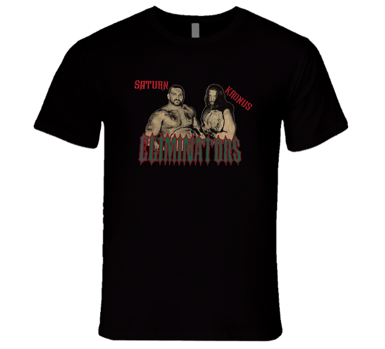 Eliminators ECW Saturn Kronus Retro Classic Wrestling T Shirt