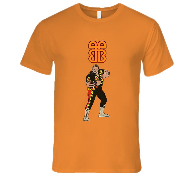 Bam Bam Bigelow Classic Retro Rare Wrestling T Shirt