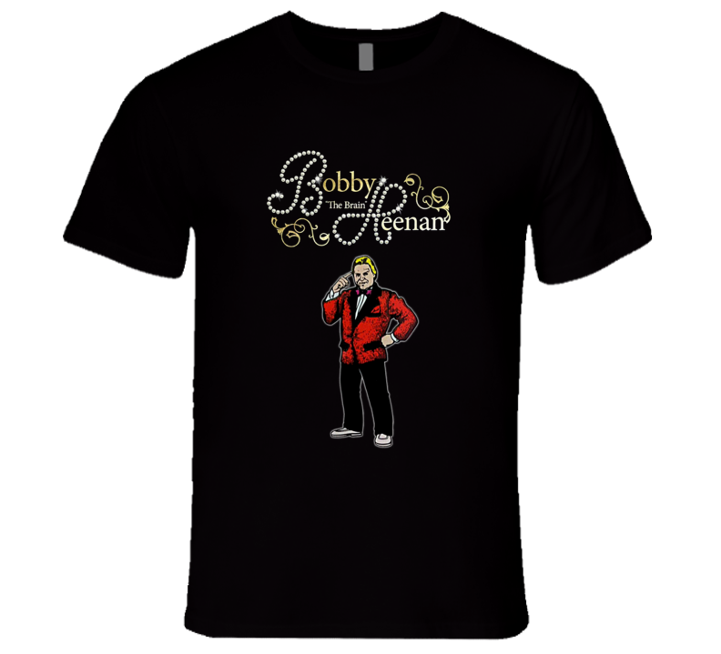 Bobby The Brain Heenan Classic Retro Rare Wrestling T Shirt