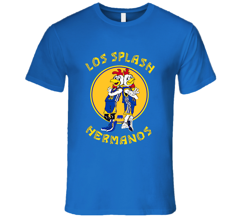 Los Splash Hermanos Warriors Steph Curry T Shirt