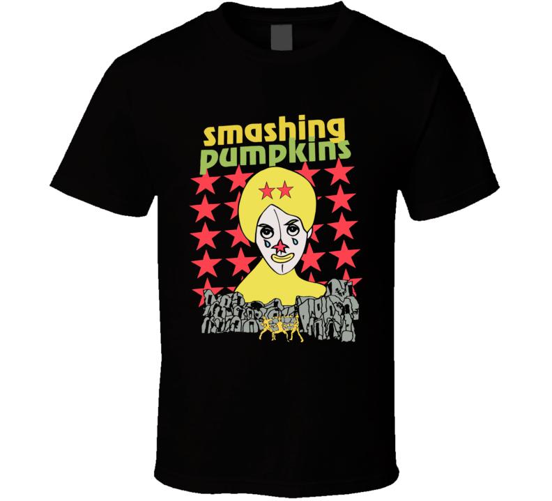 Smashing Pumpkins Retro Tour 1994 Grunge Music Classic T Shirt
