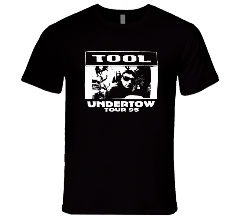 Tool Undertow Tour 1995 Retro Classic Rare Music T Shirt