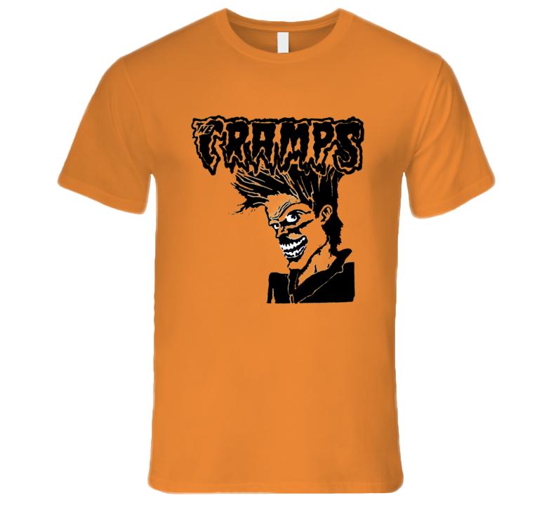 The Cramps Retro Rare Classic Rock Music T Shirt