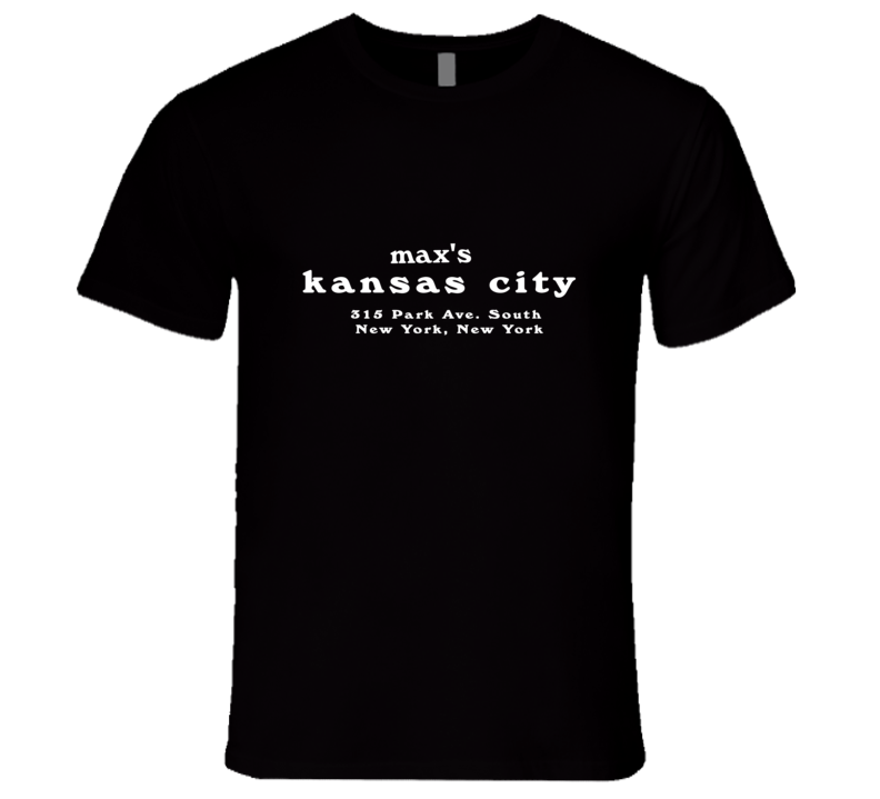Max's Kansas City T Shirt REISSUE