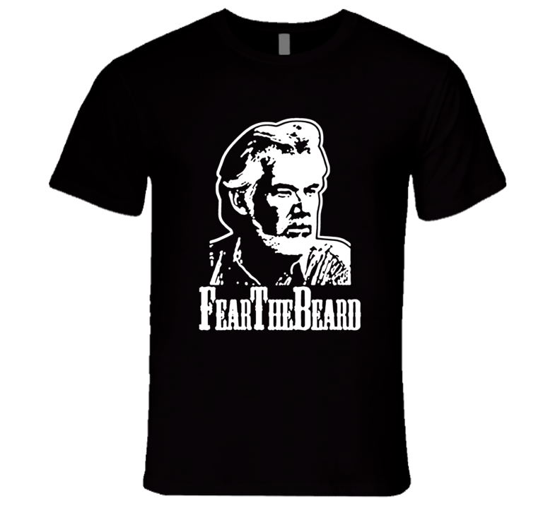 Kenny Rogers Fear The Beard Funny Music T Shirt REISSUE