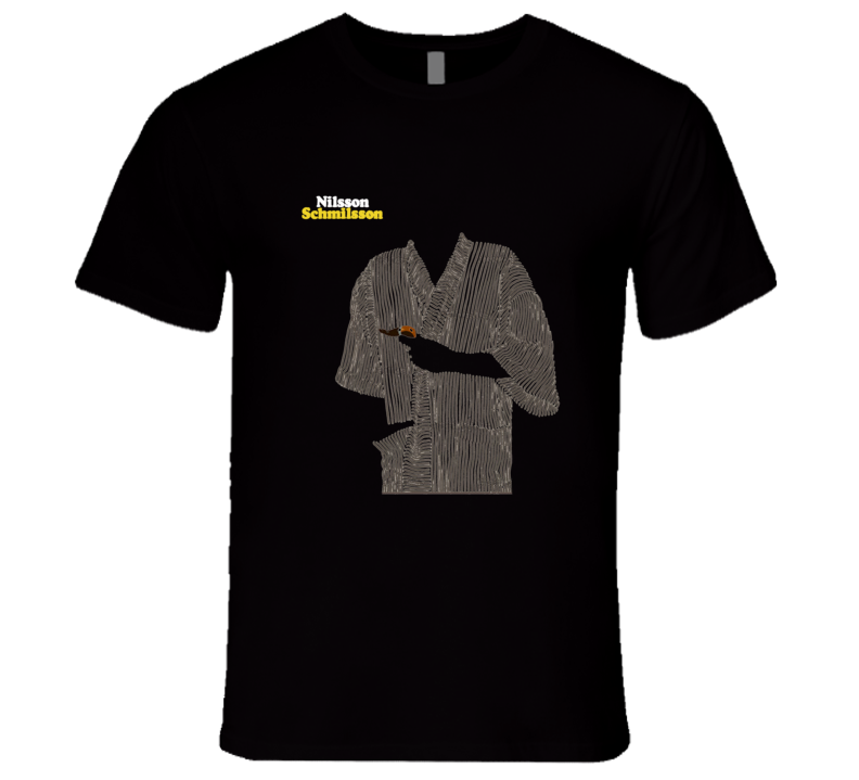Harry Nilsson Nilsson Schmilsson Album Music T Shirt REISSUE