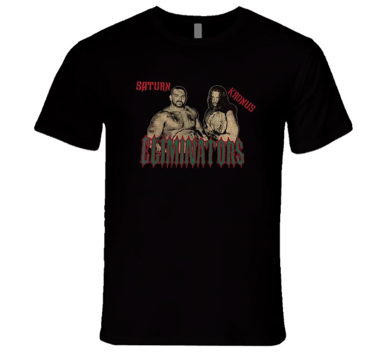 Eliminators ECW Saturn Kronus Retro Classic Wrestling T Shirt REISSUE