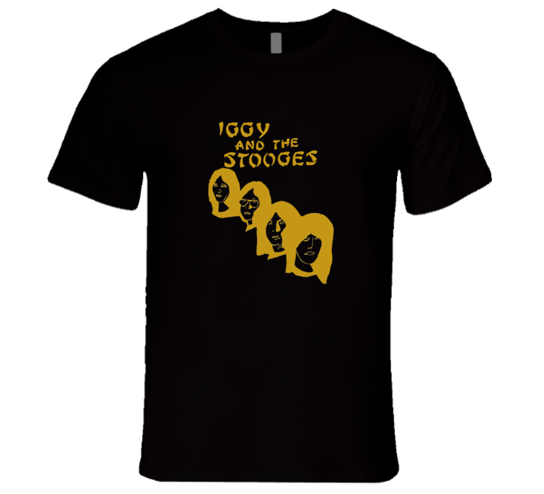 Iggy and the Stooges Retro Proto Punk T Shirt REISSUE