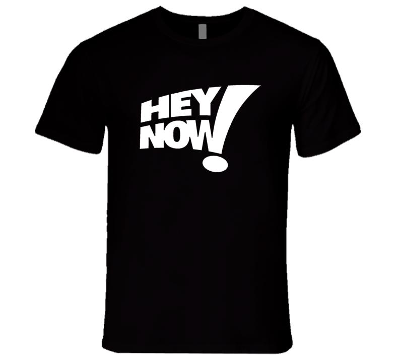 Hey Now Howard Stern Larry Sanders Show T Shirt REISSUE