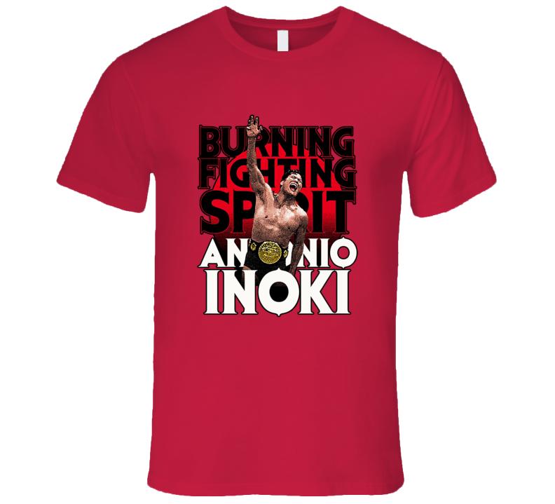 Antonio Inoki Retro Japanese NJPW Classic Wrestling T Shirt REISSUE