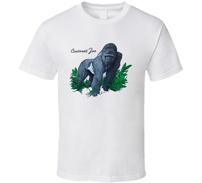Harambe Cincinnati Zoo Retro Gift Shop T Shirt