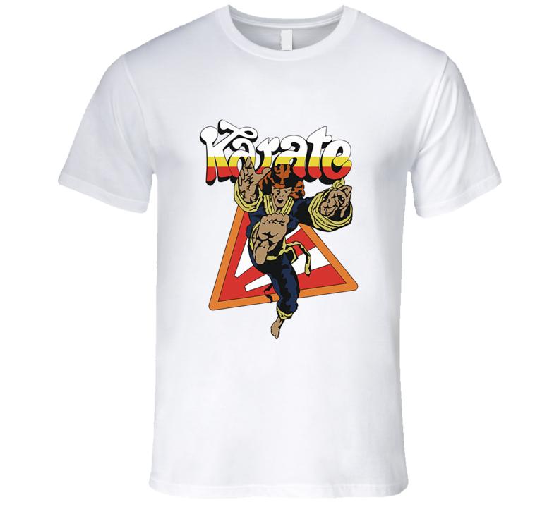 Stranger Things Karate Dustin HBO Retro TV Show T Shirt