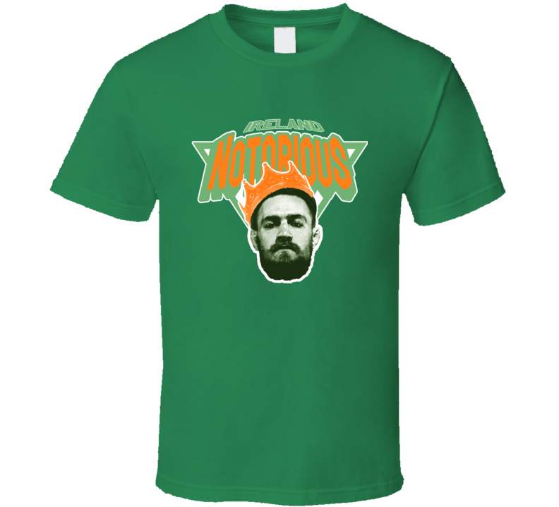 Conor McGregor Notorious New York Knicks MMA UFC 205 Ireland T Shirt