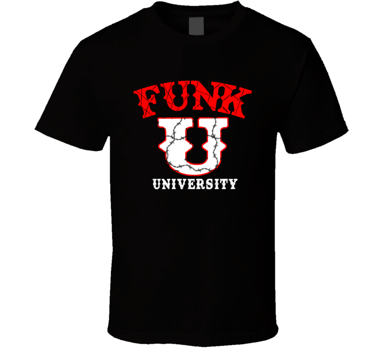 Terry Funk University Hardcore Wrestling Classic T Shirt