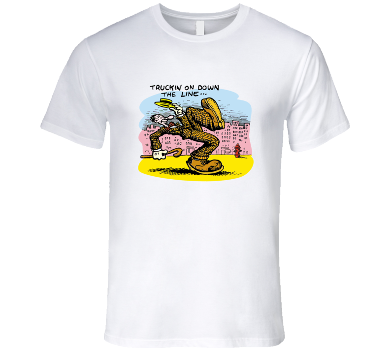 Truckin' On Down The Line Robert Crumb Classic T Shirt