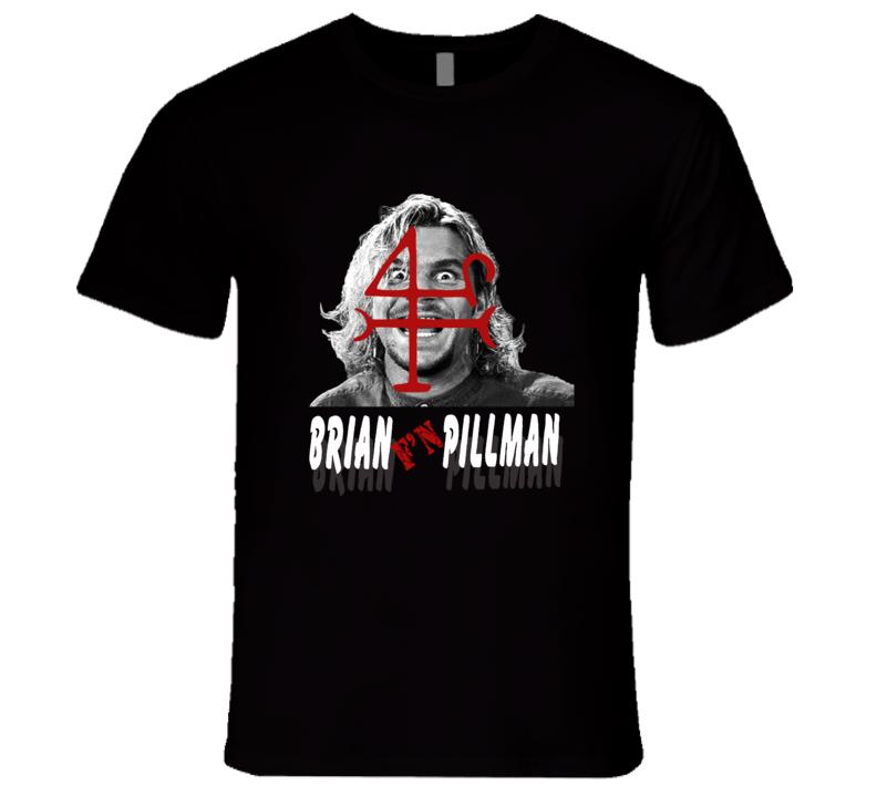 Brian Pillman Ecw Hardcore Classic Wrestling T Shirt