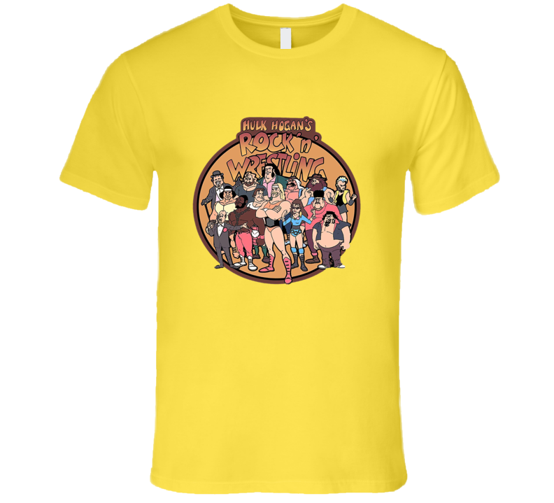 Hulk Hogan's Rock'n Wrestling Cartoon Classic T Shirt