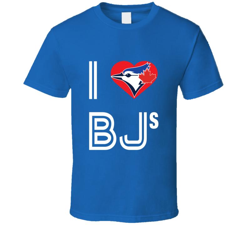 I Love BJ's T Shirt