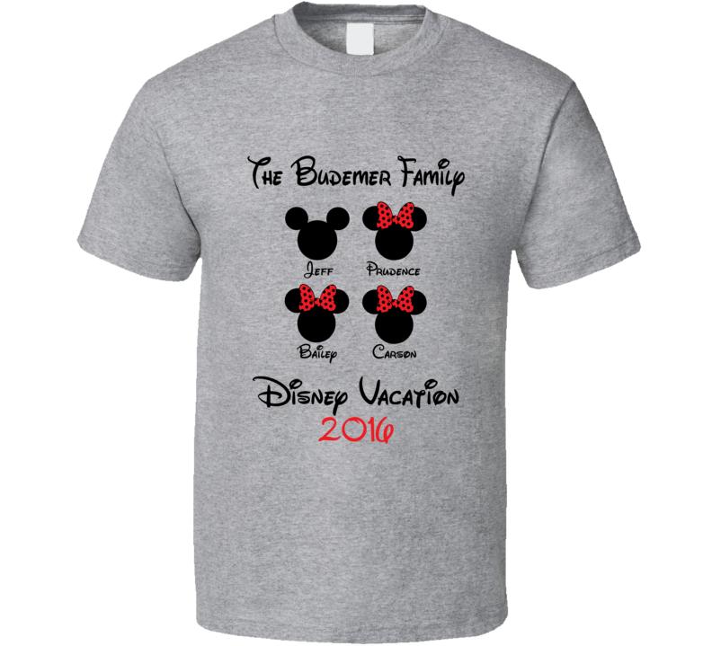 Budemer Custom T Shirt