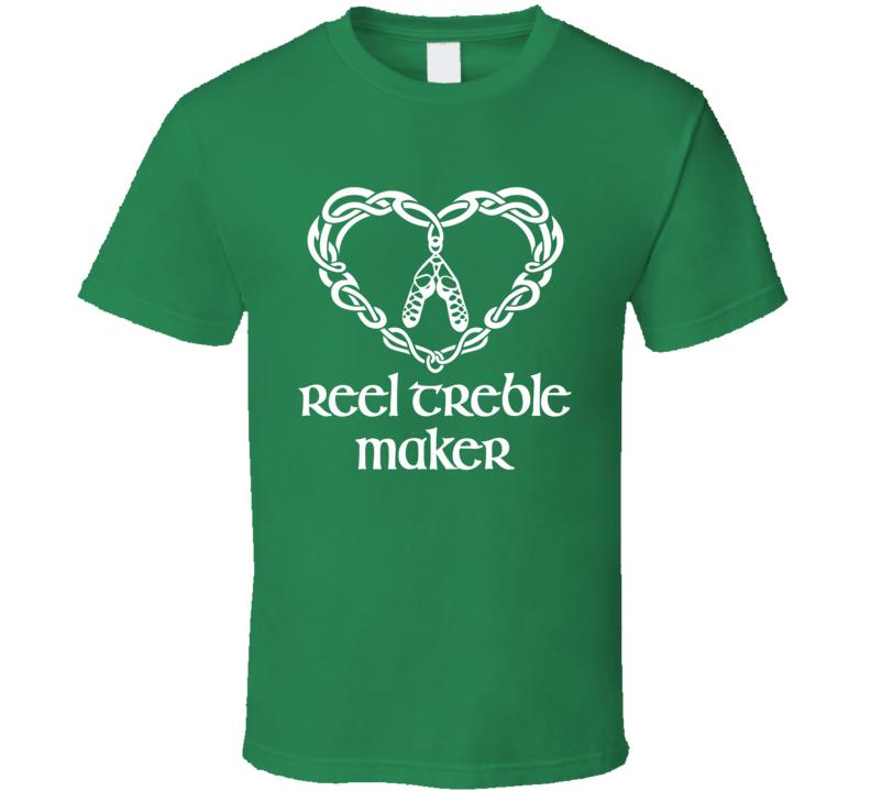 Reel Treble Maker Irish Dancer T-Shirt