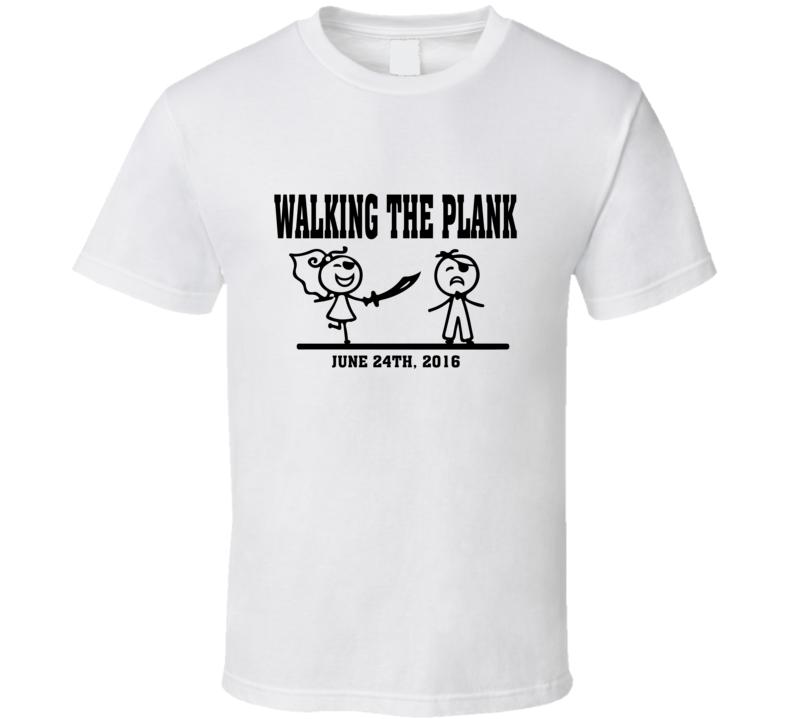 Groom Walking the Plank T-Shirt