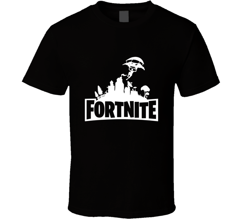 Fortnite Parachute In Youth / Adult T-shirt