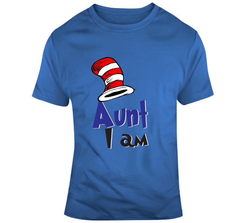 Custom Aunt I Am T Shirt