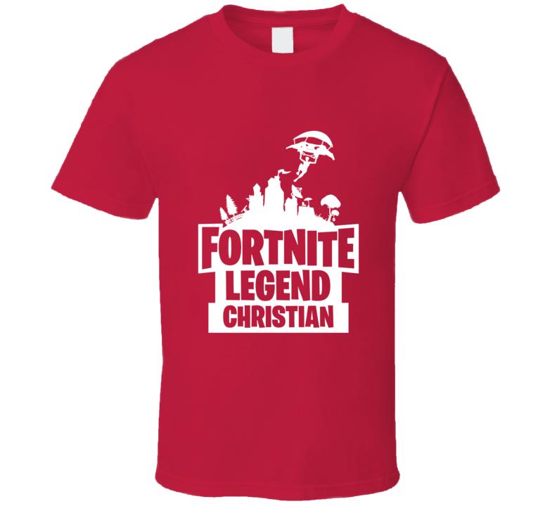 Custom Fortnite Christian T Shirt