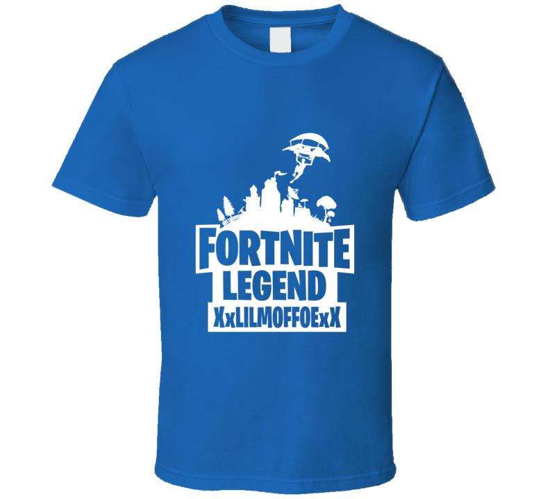 Custom Fortnite Xxmoefoxx T Shirt