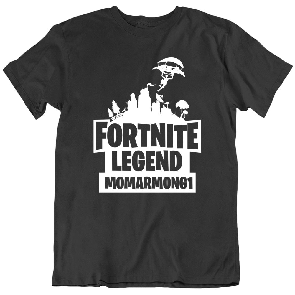 Custom Fortnite For Momerang1 T Shirt