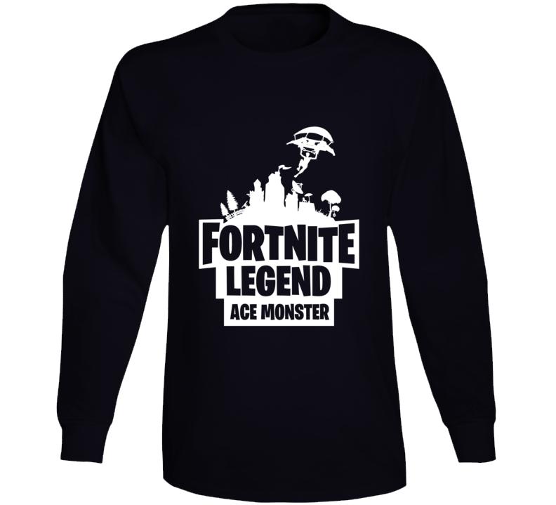 Ace Monster Custom Fortnite Tee Long Sleeve T Shirt