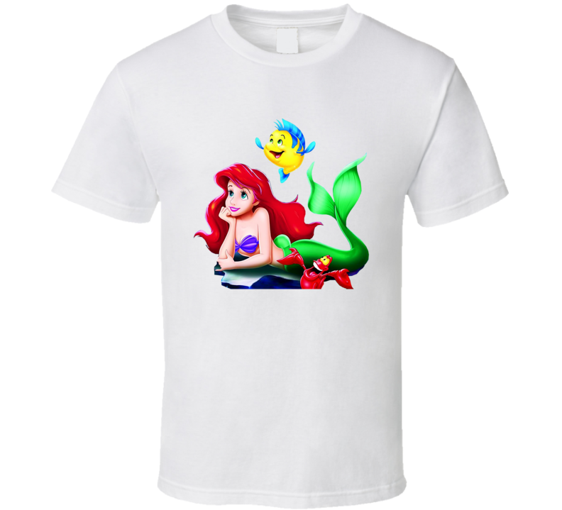 Ariel Little Mermaid T Shirt