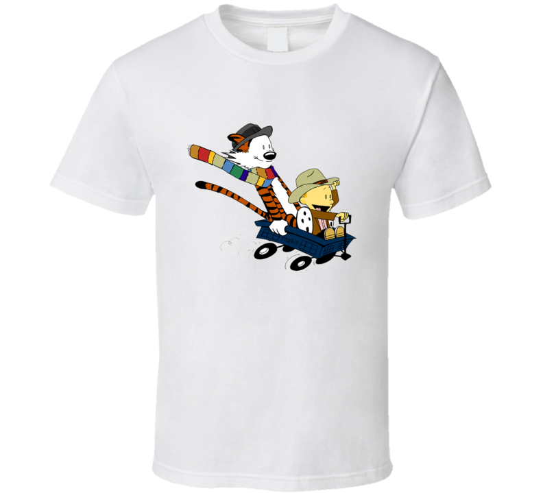 Calvin And Hobbes Doctor Calvin T Shirt