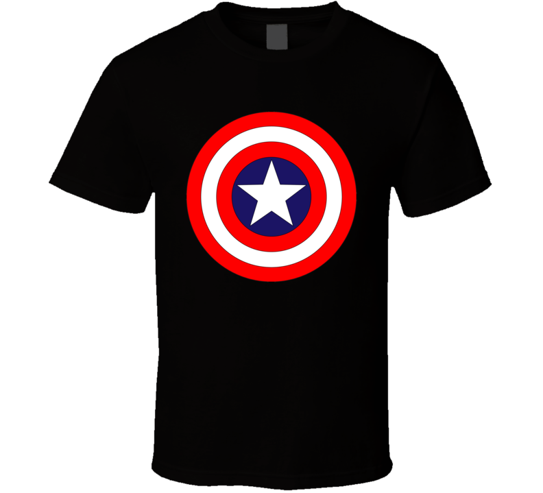 Captain america logo T Shirt