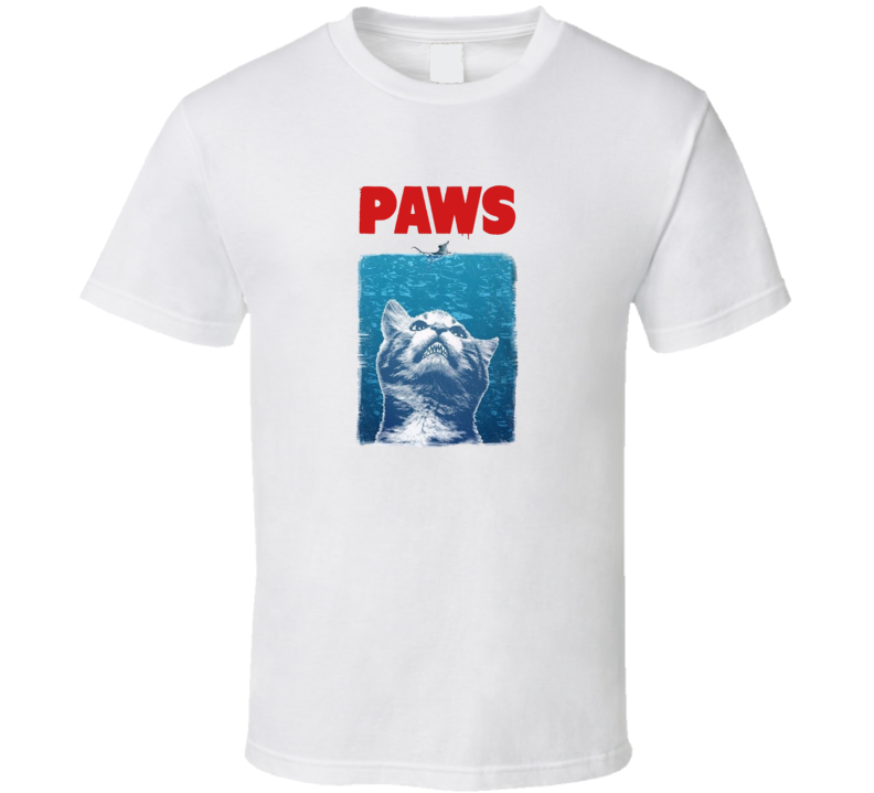 Crazy Cat Meow Paws T Shirt