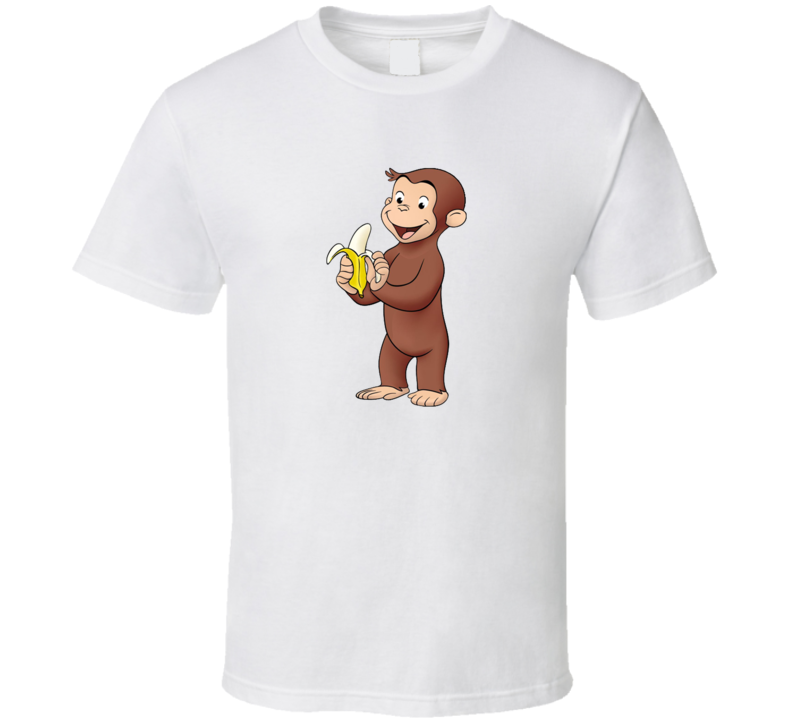Curious George banana T Shirt