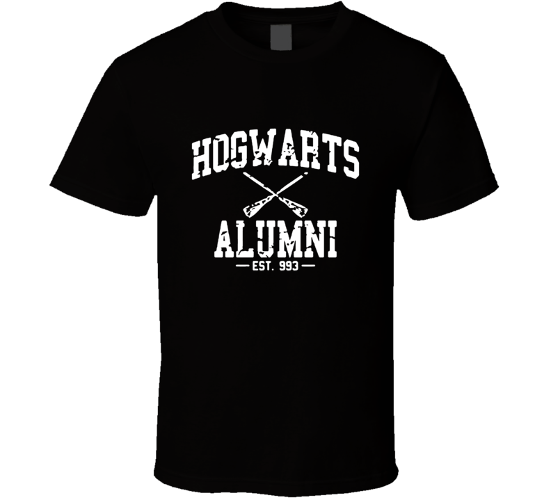 Harry Potter Hogwarts Alumni  T Shirt