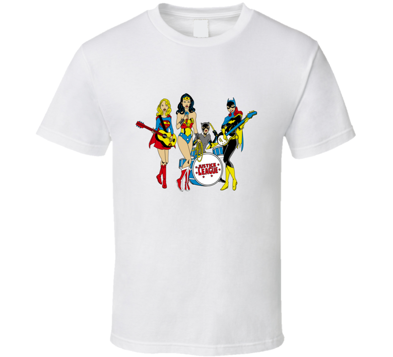 Justice League Girls T Shirt