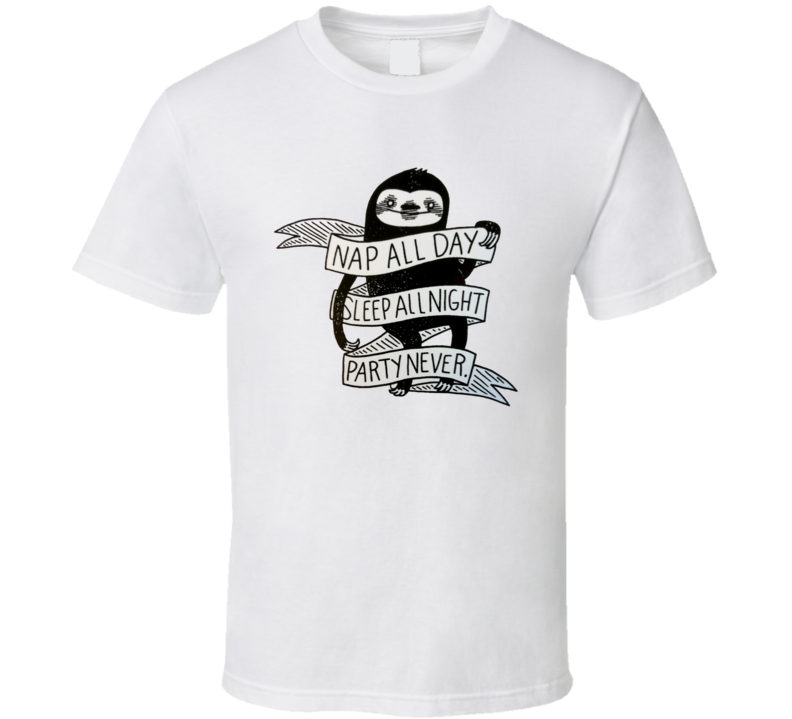 Namaste In Bed T Shirt