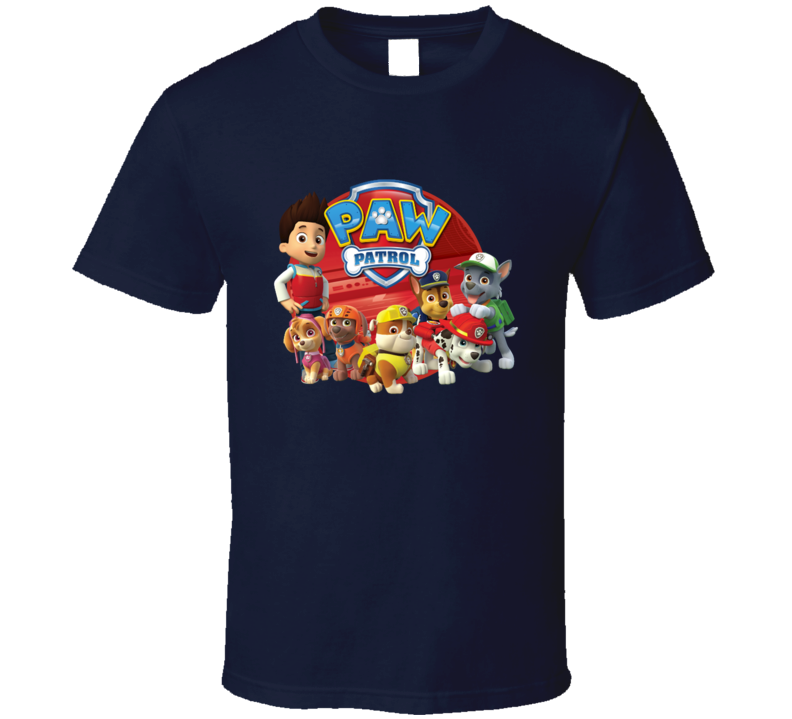 Paw Patrol Car on Tour T Shirt