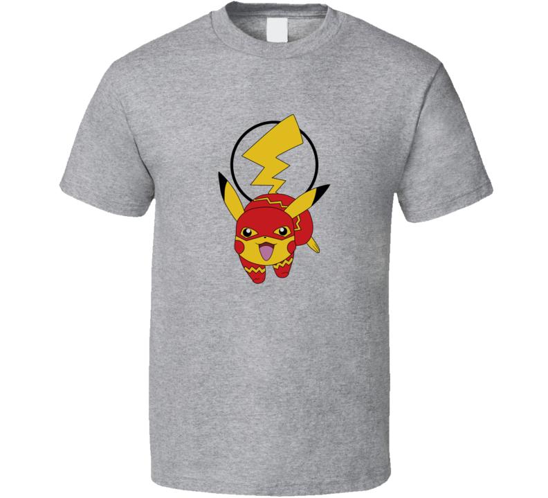 Pika Flash pikachu pokemon T Shirt
