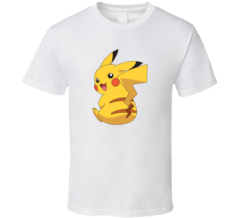 Pikachu Anime  T Shirt