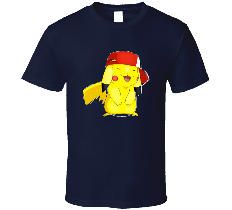 Pikachu Anime hat T Shirt