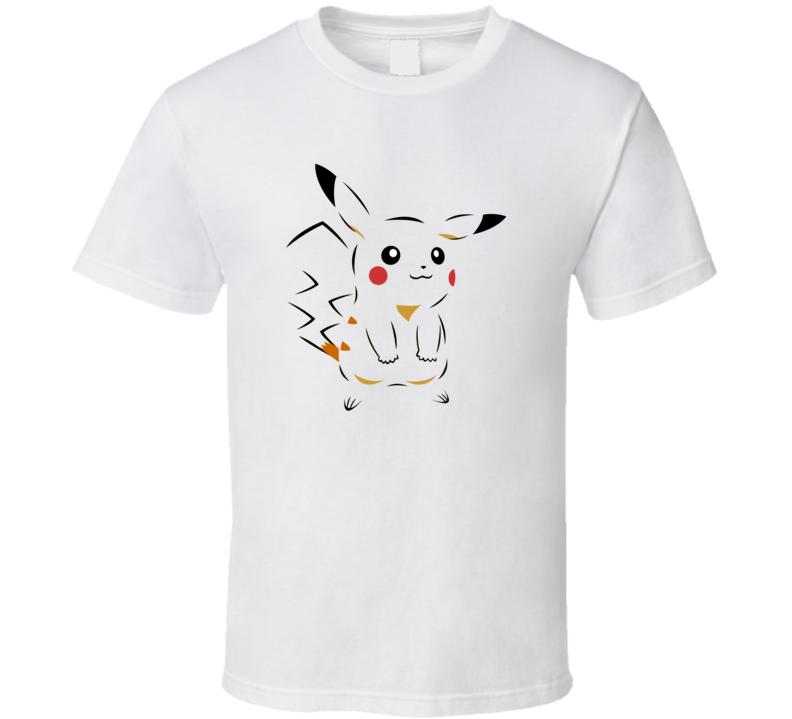 Pikachu Happy Style  T Shirt