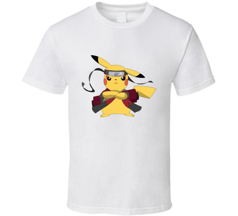 Pikachu Naruto T Shirt