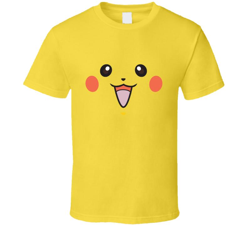 Pikachu Smile Face T Shirt