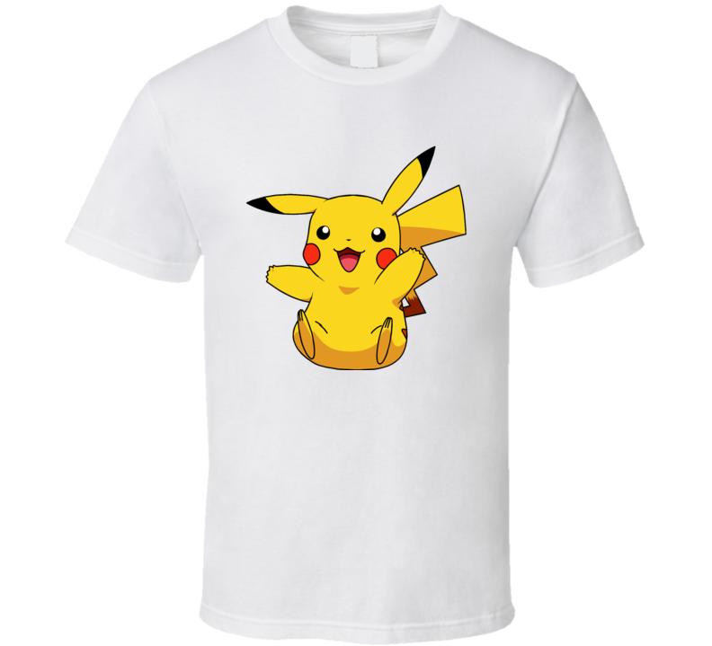 Pikachu Very Happy cute T Shirt