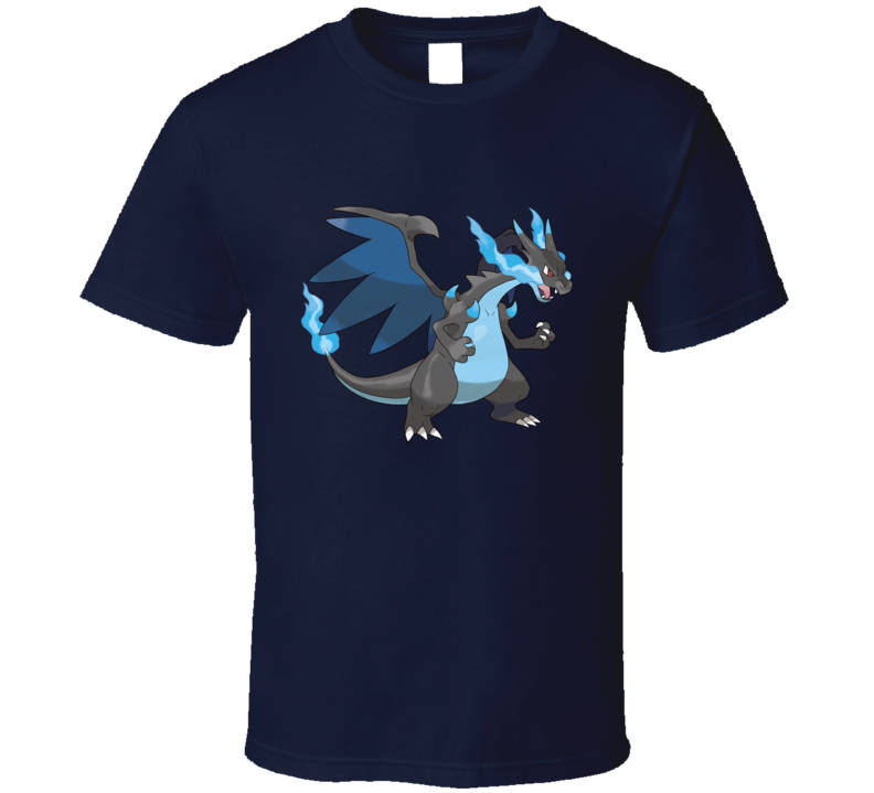 Pokemon Mega Charizard X T Shirt
