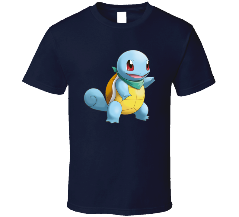 Squirtle Pokemon T Shirt